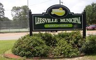 Sign reading &#34Leesville Municipal Golf Course.&#34